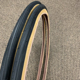 BICYCLE TIRES FOR SCHWINN VARSITY 26 X 1-3/8 X 1-1/4 S-6 GUM WALL FIT MANY SCHWINN