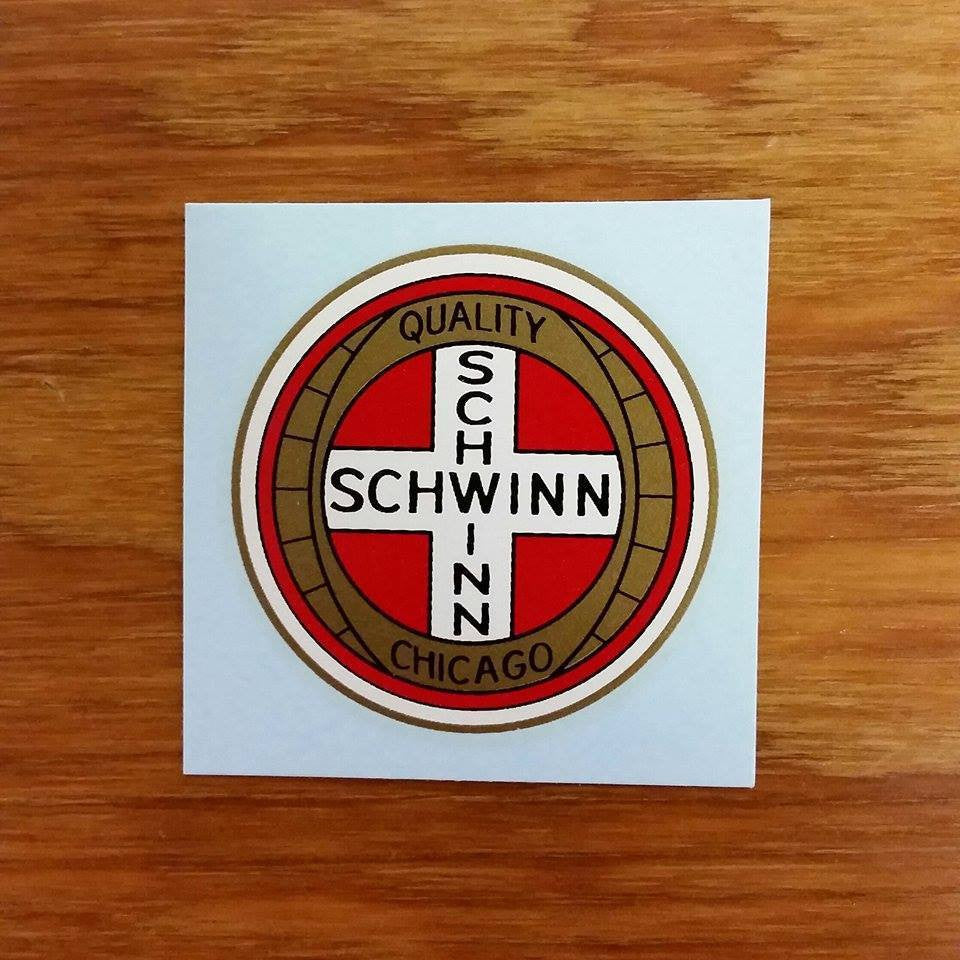 SCHWINN PHANTOM PANTHER CHAIN GUARD QUALITY DECAL