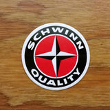 SCHWINN BICYCLE QUALITY STICKER DECAL AUTHENTIC NOS