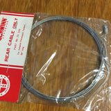 "SCHWINN REAR BRAKE INNER CABLE ONLY FOR PARAMOUNT TANDEM 84"" LONG NO. 20 - 249"
