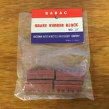 BRAKE PADS FIT SCHWINN FASTBACK MANTA RAY BIKES NOS