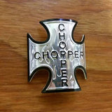 BICYCLE HEAD BADGE NAME PLATE CHOPPER EASY STICK ON