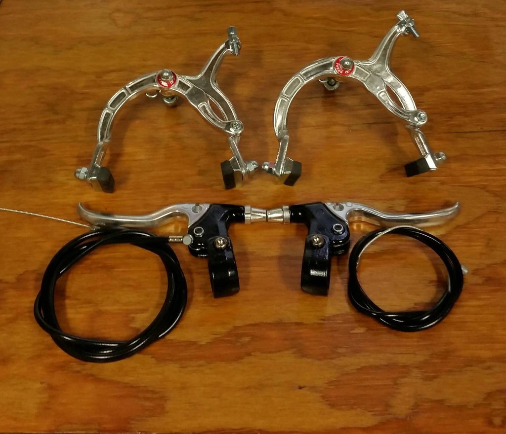 BICYCLE BRAKE SET FOR SCHWINN ROAD BIKES MOUNTAIN BIKES SEARS AMF ROADMASTER