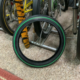 SCHWINN STINGRAY PEA PICKER GREEN LINE FRONT TIRE 16 X 1-3/4 S-7 NEW