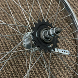 BICYCLE WHEEL SET 20 X 1.75 FIT MUSCLE BIKE CHOPPER & MANY OTHERS
