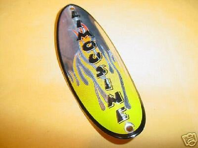 BICYCLE HEAD BADGE  CHOPPER BIKE LIMOUSINE NEW