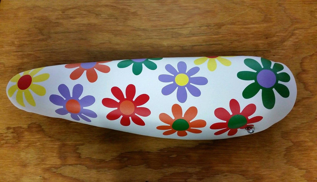 BICYCLE SEAT BANANA FLOWER POWER VINTAGE STYLE VERY COOLS