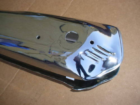 SCHWINN PANTHER BICYCLE STREAMLINED HORN TANK B-6 OTHERS NEW CHROME