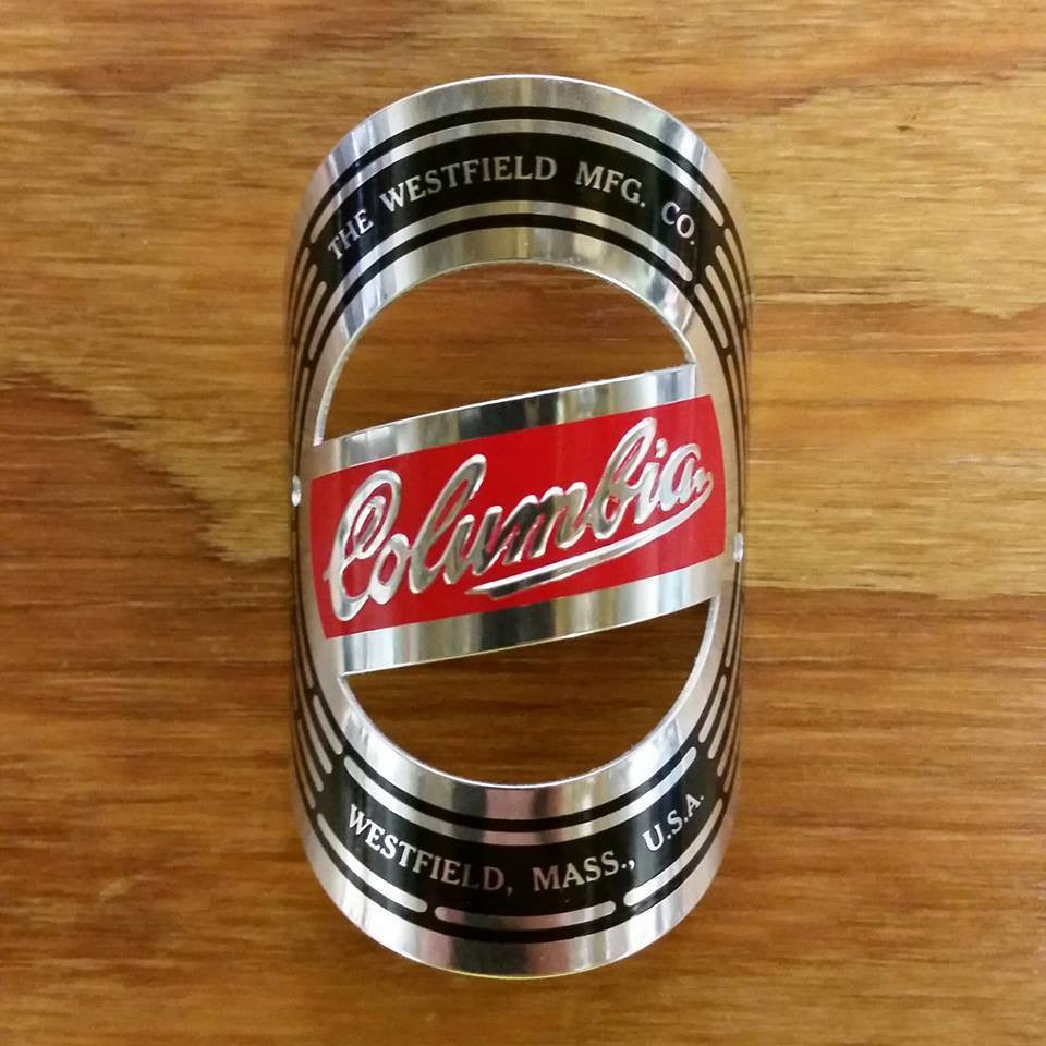 headbadge perfect condition. New The Raleigh Nameplate