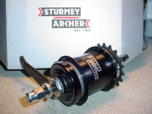 STURMEY ARCHER 2 SPEED KICK BACK COASTER BRAKE HUB for SCHWINN HUFFY SEARS OTHER