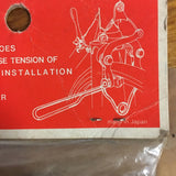 VINTGE BIKE PALS HANDS FREE CALIPER BRAKE TOOL 60S NOS MADE IN JAPAN
