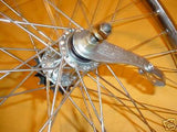 BICYCLE WHEELS 24 X 2.125 FIT VINTAGE BALLOON TIRE BIKE