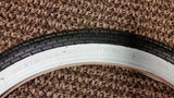SCHWINN WESTWIND STINGRAY BICYCLE TIRE 20 X 1 3/4 MINT FIT S7 WHITE WALL