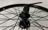 BMX WEINMANN BICYCLE WHEEL'S 20 X 1.95  BLACK COASTER BRAKE  PAIR NEW