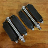 TORRINGTON 10 BICYCLE PEDALS WESTFIELD MASS  RARE