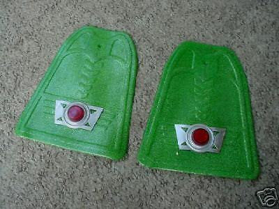 BICYCLE FENDER FLAP GUARDS NEVER USED NOS GREEN COOL