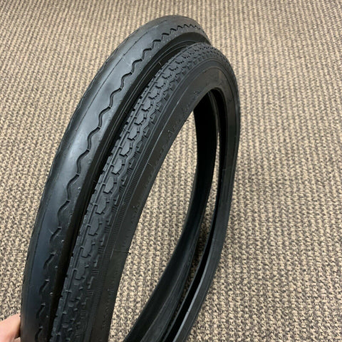 BICYCLE TIRES FOR SCHWINN STINGRAY 20 X 1 3/4 S-7 FRONT / S-2 REAR SLICK WITH TUBES / LINERS