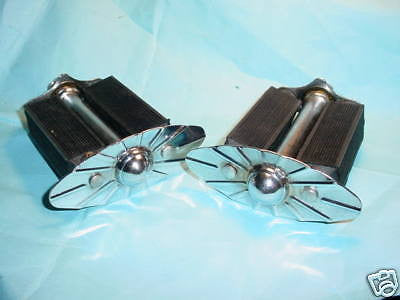 BICYCLE PEDALS FIT COLUMBIA SCHWINN 1940'S 1950'S BALLOON TIRE BIKES OTHERS