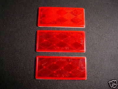 BICYCLE REFLECTORS FIT BIKES CARTS SCOOTERS OTHERS NEW