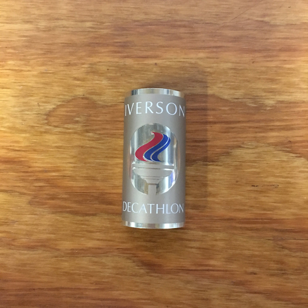 VINTAGE BICYCLE IVERSON DECATHLON HEAD BADGE