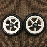 BICYCLE WHEELS STRONG PLASTIC MAG 12 INCH FRONT & REAR NEW