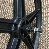 "ACS Z MAG 20"" FRONT WHEEL 5 SPOKE 3/8 AXLE BLACK"