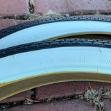BICYCLE TIRES FIT SCHWINN PHANTOM PANTHER 26 X 2.125 BRICK TREAD NEW