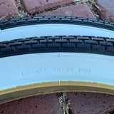 BICYCLE TIRES FIT SCHWINN TYPHOON PHANTOM HORNET WIZZER MOTOR BRICK TREAD STYLE