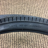 SCHWINN FASTBACK STINGRAY SLIK TIRE REAR 20 X 1 3/8