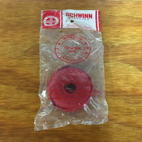 NOS Vintage Schwinn Handlebar Tape...Red..Varsity...Muscle Bike