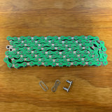 BICYCLE BMX CHAIN FOR 20 INCH BIKES SCHWINN OTHERS NOS GREEN
