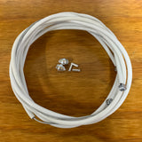 SCHWINN STINGRAY SHIFTER CABLE & BRAKE SET FITS APPLE KRATE & OTHERS WHITE