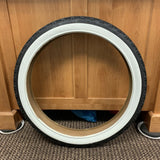 BICYCLE TIRE 20 X 2.125 KNOBBY WHITE WALL FIT SCHWINN STING-RAY & OTHERS NEW