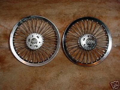 BICYCLE WHEELS 12 INCH STRONG CUSTOM MADE 52 SPOKES HEAVEY DUTY