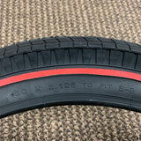 SCHWINN APPLE KRATE GRIPPER SLIK RED LINE TIRE NEVER USED WITH TUBE