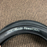 BICYCLE TIRES EXTRA BIG WIDE KENDA FLAME 20 X 3.0 JUMBO FLAME TREAD