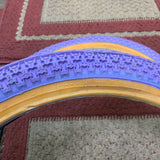 KENDA LAVENDER TIRES 88 GT PRO PERFORMER HARO FREESTYLE BMX HUTCH OLD SCHOOL NOS
