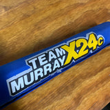 OLD SCHOOL TEAM MURRAY X24C BLUE BMX BIKE FRAME TOP TUBE PAD VINTAGE NOS