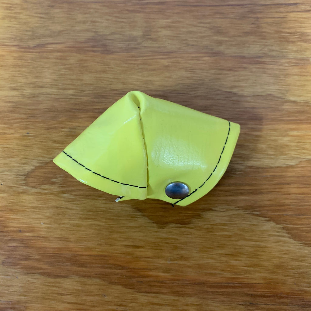 OLD CHOOL BMX BICYCLE BAR STEM NECK PAD YELLOW VINTAGE NOS