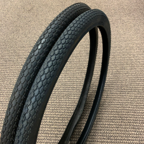 BICYCLE TIRES FIT SCHWINN TYPHOON FIESTA  26 x 1 3/4 S-7 CORVETTE TIGER OTHERS
