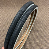 BICYCLE TIRES WHITE WALLS 26 X 1.75 MIDDLE WEIGHT SEARS MURRAY ROADMASTER OTHERS