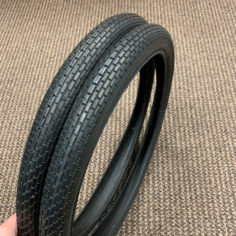 BICYCLE TIRES FIT HUFFY SEARS MURRAY AMF ROADMASTER 20 X 1.75