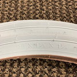 BICYCLE TIRES WHITE WALLS FIT SCHWINN 26 X 1-3/8 X 1-1/4 S - 6 RARE NEVER USED