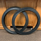 BICYCLE TIRES 24 X 2.125  PAIR FIT BALLOON BIKE SCHWINN