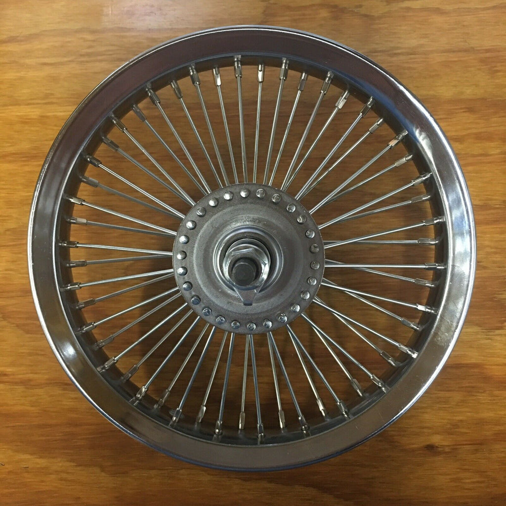 "BICYCLE WHEEL SUPER STRONG HEAVY DUTY 12"" INCH 52 SPOKES"
