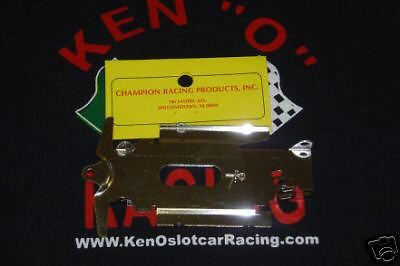 "CHAMPION # 440,  Turbo 4"" Indy Slot Car Chassis"