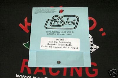 PRO SLOT 430 2MM X 6MM SLOT CAR MOTOR BALL BEARINGS