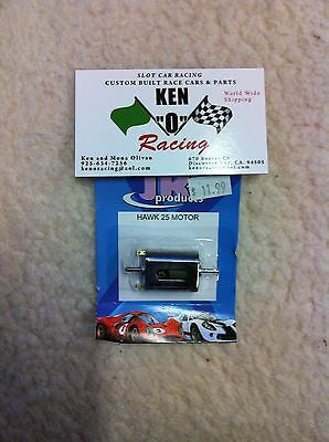 JK # 30325 Hawk 25 Rental Car Slot Car Motor