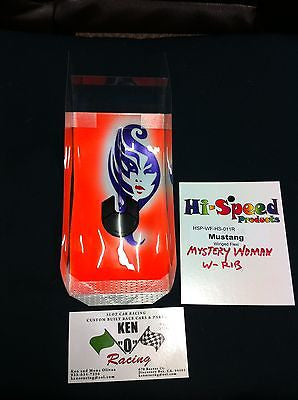 Hi Speed #011R O/S Mystery Woman Mustang W/Rib Long