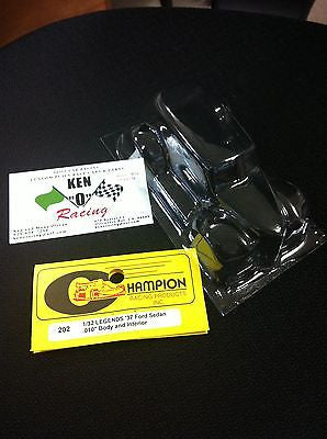 CHAMPION 202  '37 Legends 1/32 FORD 2-Door Sedan CLEAR  Body